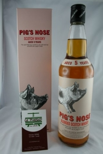 PIG'S NOSE 70CL 40pourcent
