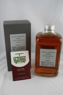 NIKKA FROM THE BARREL 51.4pourcent  50cl BLEND
