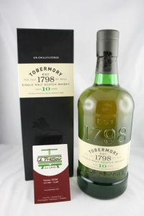 TOBERMORY 12 YEARS  70CL  46.3pourcent