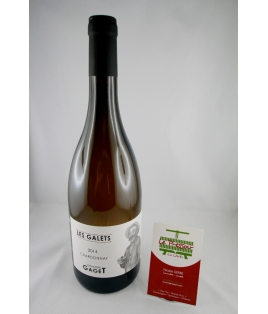 LES GALETS CHARDONNAY 75CL 2018 BEAUJOLAIS    DOMAINE GAGET
