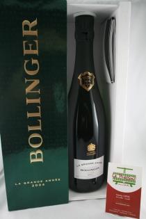 BOLLINGER BT LA GRANDE ANNEE  BRUT 2004 COFFRET 12pourcent
