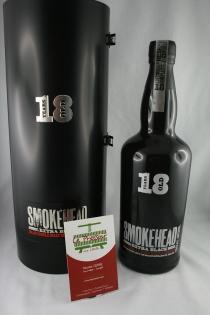 SMOKEHEAD 18 YEARS 70CL TOURBE