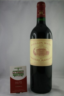 PAVILLON ROUGE DE CHÂT. MARGAUX 75CL 1998