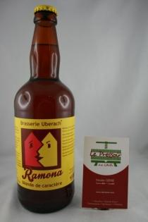 RAMONA 50CL 7.3° BLONDE DE CARACTERE  UBERACH
