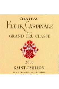 CHÂT. FLEUR CARDINALE  75CL  2006