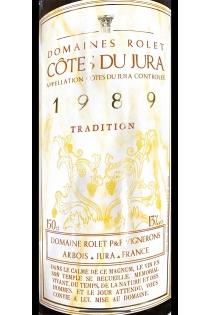 CÔTES DU JURA TRADITION BLANC 1989- MAGNUM -DOMAINE ROLET