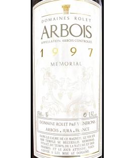ARBOIS ROUGE MEMORIAL 1997 - MAGNUM-DOMAINE ROLET