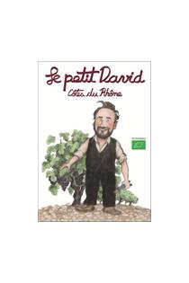LE PETIT DAVID ROUGE 2017 CÔTES DU RHÔNE VIGNOBLES DAVID-75cl